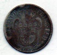 ITALΙAN STATES - SARDEGNA, 20 Soldi, Billon, Year 1794, KM #58 - Andere