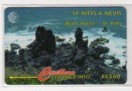SAINT KITTS ET NEVIS  REF MV CARDS  STK-18A ANNEE 1995 18CSKA 60$ - St. Kitts & Nevis