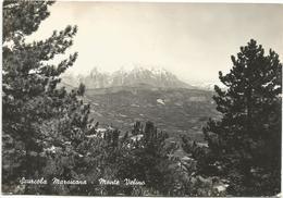 Y4953 Scurcola Marsicana (L'Aquila) - Panorama Verso Il Monte Velino / Viaggiata 1959 - Italia