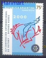 Argentina 2000 Mi 2573 MNH ( ZS3 ARG2573 ) - Rotary, Lions Club