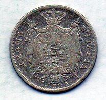 ITALΙAN STATES - REGNO DI NAPOLEONE, 1 Lira, Silver, Year 1811-M, KM #8.1 - …-1861 : Antes De La Reunificación