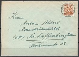 All. Kontrollrat Brief Heppenheim Nach Aschaffenburg Vom 23.3.1948 - Gemeinschaftsausgaben