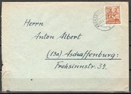 All. Kontrollrat Brief Aschau Nach Aschaffenburg Vom 21.1.1948 - Gemeinschaftsausgaben