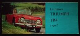 """08825 """"TRIUMPH TR 4"""" PIEGH. ILLUSTR. ORIG. - Coches"""