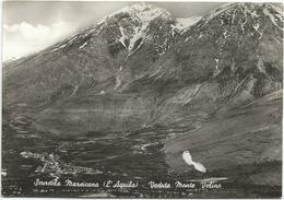 Y4973 Scurcola Marsicana (L'Aquila) - Panorama Del Monte Velino / Viaggiata 1967 - Italia