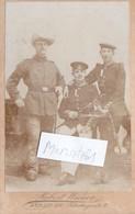 Foto CDV Deutsche Soldaten Reservisten Garde Berlin Schutztruppe Afrika Um 1900 - Oorlog, Militair