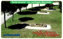 *ITALIA: VIACARD - A12 PARCHEGGIO ALBEROBELLO (L.50000)* - Usata - Non Classificati