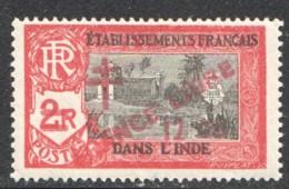 INDE Surcharge «Croix De Lorraine Et FRANCE LIBRE» 12 Ca Sur 2R   Yv 206* - Ungebraucht