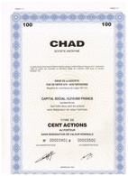 Titre Ancien - CHAD - Société Anonyme - Titre De 1994 - - Shareholdings