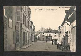 71 - CLUNY - Rue De L'Hôpital ,#71/023 - Cluny