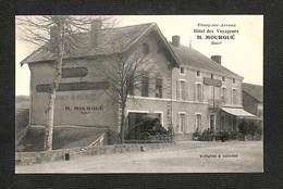 71 - ETANG Sur ARROUX - Hôtel Des Voyageurs - H. MOURQUÉ - Voitures à Volonté - RARE ,#71/016 - Francia
