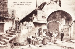 83 Saint Tropez La Halle Aux Poissons (2 Scans) - Saint-Tropez