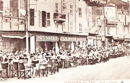 83 Saint Tropez Autrefois Senequier En 1937 Au Complet (2 Scans) - Saint-Tropez
