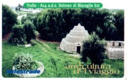 *ITALIA: VIACARD - A14 A.D.S. DOLMEN DI BISCEGLIE EST (L.50000)* - Usata - Non Classificati