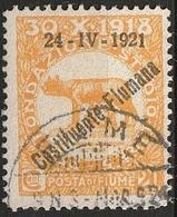 Italie Fiume 1921 N° 167 Constituente Cote 5 €  (F12) - Fiume