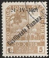 Italie Fiume 1921 N° 174 Constituente  (F12) - Fiume
