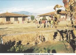 Postcard SOS Childrens Village Kathmandu Nepal My Ref  B23887 - Nepal