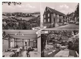 """Lindlar-Linde - Gaststätte """"Jägerhof""""- 4 Ansichten ~ 1955 - Lindlar"""