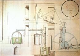 CPM 54 (Meurthe-et-Moselle) Jarville - Musée Du Fer. Coupe De La Machine à Vapeur De Watt Au Creusot Par FD De Vrégille - Francia