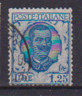 REGNO D'ITALIA 1926  TIPO FLOREALE MODIFICATO FILIGRANA CORONA SASS. 202 USATO VF - Usati