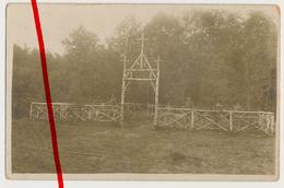 Original Fotos - Berru - Soldatenfriedhof Cimetiére - Ca. 1916 - Reims