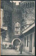 °°° 15872 - GREECE - RODI RHODES - ENTRATA IN CITTA DA PORTA SCALA - 1920 With Stamps °°° - Grecia