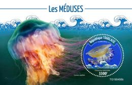 Togo  2019 Fauna  Jellyfish  S201911 - Togo (1960-...)