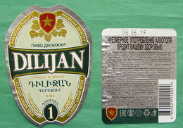 DILIJAN Beer Label Armenia 1 - Bier