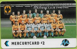 Mercury - GPT, Paytelco. PYF071, Wolverhampton Wanderers Photo, 5PFLK/*SB/S, Football Clubs, 108 Ex, Used - Reino Unido