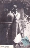 Messina - Costumi Siciliani - Alla Fonte - 1919 - Messina