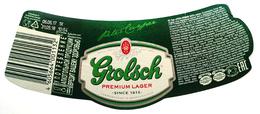 Grolsch Beer Label - Bier