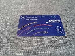 Germany - Private Phonecard Mercedes - Non Classés