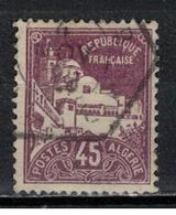 ALGERIE       N°  YVERT     46    OBLITERE       ( Ob   2/11 ) - Argelia (1924-1962)