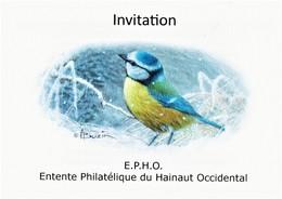 Uitnodiging E.P.H.O. 29-09-2019 - 1985-.. Birds (Buzin)