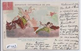 PARIS- EXPOSITION UNIVERSELLE DE 1900- DETAIL D UN TABLEAU DE TIEPOLO A VENISE- VENISE A PARIS- AVENUE DE SUFFREN - Exposiciones