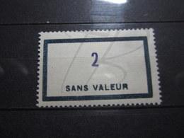 VEND BEAU TIMBRE FICTIF DE FRANCE N° F153 , XX !!! - Phantomausgaben