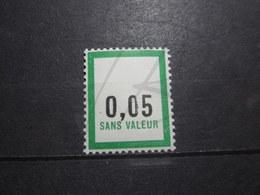 """VEND BEAU TIMBRE FICTIF DE FRANCE N° F174 , """" 0 """" TRONQUE , XX !!! - Phantomausgaben"""