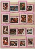 VAE Umm Al-Qaiwain 1972 Olympische Spiele MiNr.:938BrBL-953BrBL Satz Gestempelt UAE Used - Umm Al-Qiwain