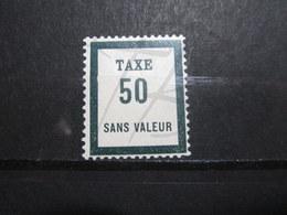 VEND BEAU TIMBRE TAXE FICTIF DE FRANCE N° FT8 , XX !!! - Phantomausgaben