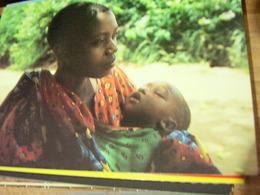 TANZANIA MAMMA E BAMBINO WOMAN E CHILDREN  ITISO  VEYULA  V1996 HI3230 - Tanzania