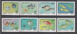 Vietnam 1981 - Fishes Ornamentales, Mi-Nr. 1145/52, MNH** - Vietnam
