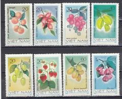 Vietnam 1981 - Fruits, Mi-Nr. 1179/86, MNH** - Vietnam