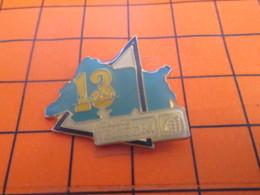 2319 Pin's Pins / Beau Et Rare / Thème FRANCE TELECOM / DEPARTEMENT 13 BOUCHES DU RHONE - Telecom De Francia