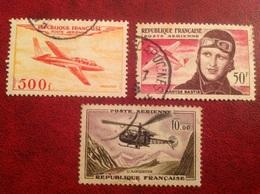 Poste Aerienne 32 34 41 Fouga Bastie Alouette - Airmail