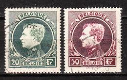290A/91A (?)  Grand Montenez Dent. 14x14,5 - Bonnes Valeurs - Oblit. - LOOK!!!! - 1929-1941 Big Montenez