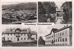 AK - Ostsudetenland - Wiesenberg - Mit Alter Sparkasse U. Hotel Göttlicher -1938 - Tschechische Republik