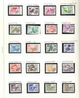 Francia PO 1977/78 Segni Zodiaco Scott.1522/1533 See Scans On Album Serie; - Francia