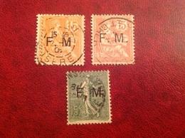 Franchise Militaire FM YT 1 2 3 - Franchigia Militare (francobolli)