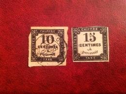 Taxe YT 2 Saint Claude Et 3 - 1859-1955 Afgestempeld