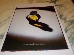 ANCIENNE  PUBLICITE PARFUM LORIS AZZARO  1976 - Parfums & Beauté